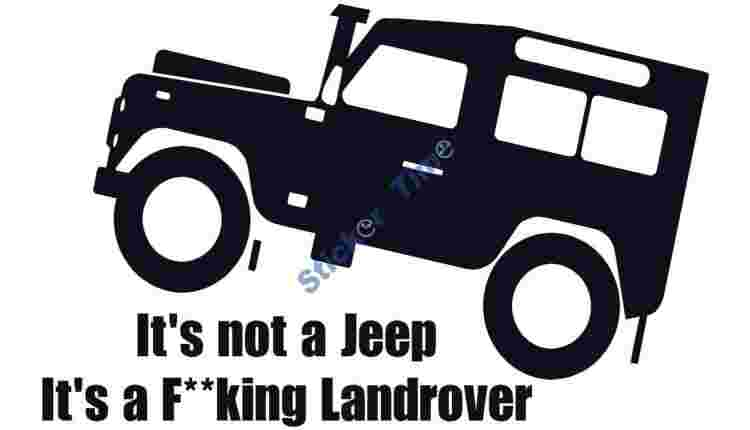 Its not a Jeep its a Fking Landrover