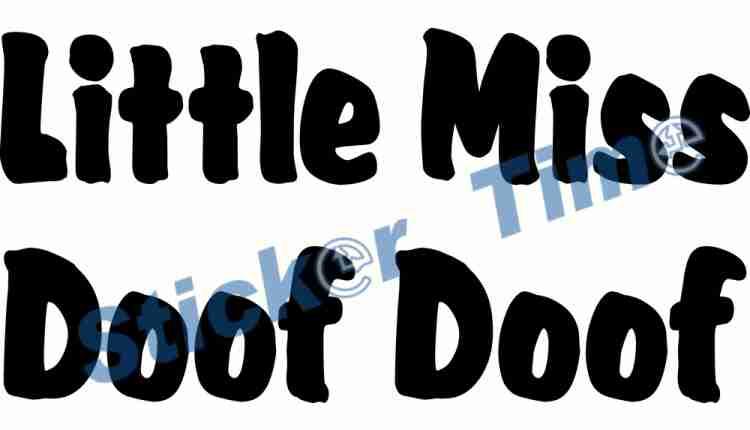 Little Miss Doof Doof