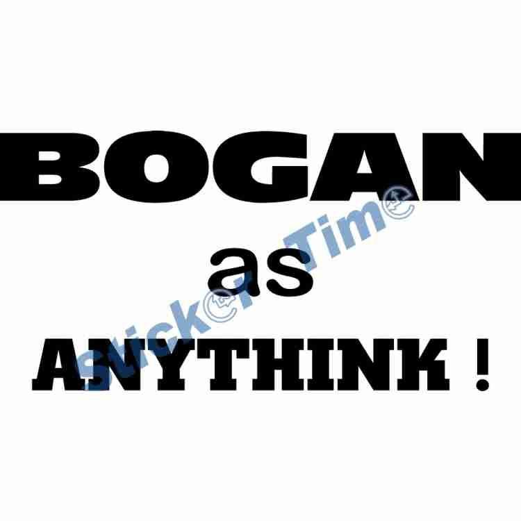Bogan as Anythink