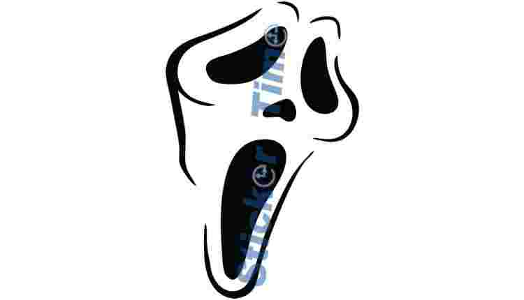 Halloween Scream Face
