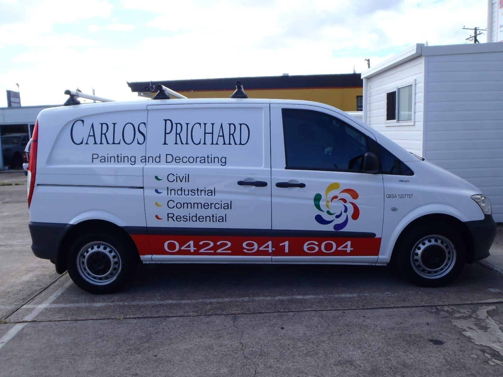 Carlos Side Vehicle Graphic