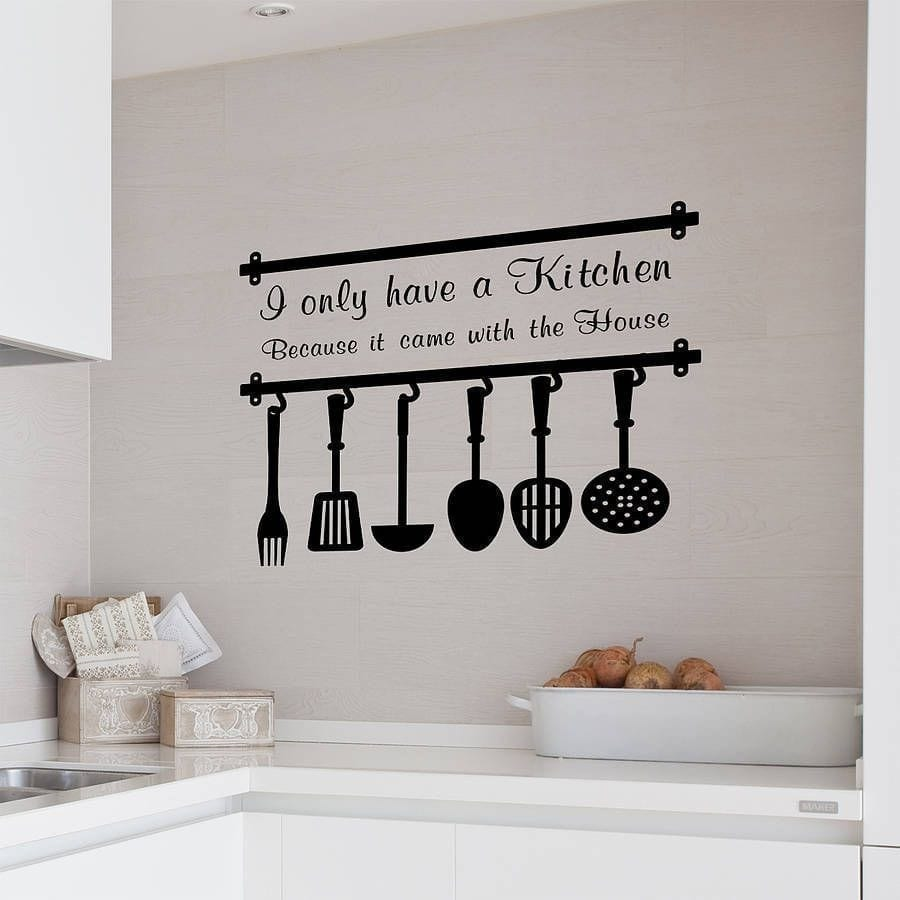 Custom Kitchen Wall Vinyl Stickers