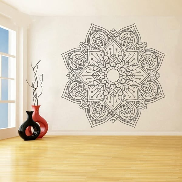 Mandala Vinyl Wall Sticker