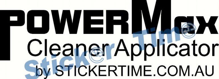 PowerMax Cleaner Applicator